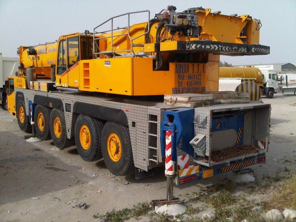 Crane Hire and Rental Services in Qatar, Doha